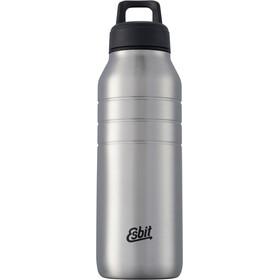 Esbit Majoris Drikkeflaske 680 ml, sølv/sort